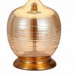 Meubletmoi Lampe à Poser Pied Boule Couleur dorée Style Classique contemporaine - AVA de la marque Meubletmoi image 1 produit