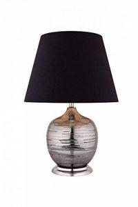 Meubletmoi Lampe à Poser Pied Boule Effet chromé Style Classique contemporaine - AVA de la marque Meubletmoi image 0 produit