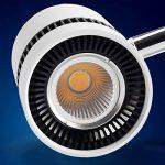 mext Electronic 12W lumière du jour blanc LED projecteur pour rails de Système de rail 3phases Rails Lampe de la marque Mextronic image 1 produit