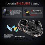 MICTUNING 600W Faisceau de Câblage Ultra Puissance avec Relais et Interrupteur à Bascule 12 V 60A ( Fil de 3m et Trois Fusibles Gratuits) pour Rampe LED de la marque Mictuning image 2 produit
