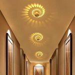Mini Plafonnier Phare Mordern Plafonnier Spot de plafond décoration eingebettet rétroéclairage LED 3W un couloir hall d'entrée porte d'entrée de la marque Zzatt image 2 produit