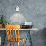 MiniSun 1 spot - Plafonnier, ou comme Applique. Moderne avec Nuances Rétro Avec Tête Réglable En Blanc Brillant & Chrome. Élégant et Pratique de la marque MiniSun image 2 produit