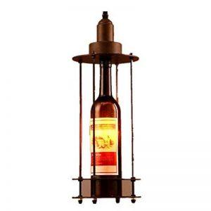 MLMH Pays Américain Vin Bouteille en Verre en Fer Forgé Lustre Restaurant Salon Café Bar Lampes Lustre de la marque MLMH image 0 produit