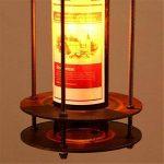 MLMH Pays Américain Vin Bouteille en Verre en Fer Forgé Lustre Restaurant Salon Café Bar Lampes Lustre de la marque MLMH image 3 produit