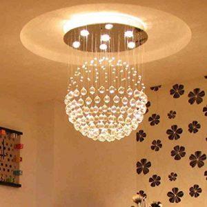 Mode Eclairage de plafond-WXP Lustre en cristal Salon Éclairage Éclairage de chambre Luminaires créatifs Lustre Ligne suspendue Luminaires modernes simples de personnalité et lanternes Luminaires intérieur-WXP de la marque Eclairage de plafond-WXP image 0 produit