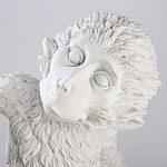 Mode Simple Art Nordique Blanc Répliques Résine Monkey Lampe De Table Pour Bureau Chambre LED Bureau Lumière Décoration De Chevet de la marque RSGK image 4 produit