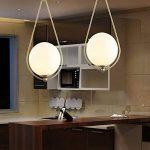 Moderne créative Lampe suspension Motif gouttes d'eau laiton Luminaire suspendu avec abat-jour en verre blanc lait minimaliste industriell designerlampen salle à manger lampe lampe de chevet Chambre lampe E27 de la marque Schön-Lampe image 1 produit