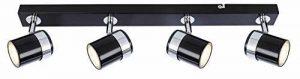 Moderne élégant 3voies plafonnier spot luminaire droite Bar compatible LED de la marque UKEW image 0 produit
