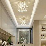 Moderne Plafonnier Industrielle Cristal en Métal, Luminaire l'éclairage Intérieur Exterieur de Plafond Abat-Jour Blanc de la marque PETITES ECREVISSES image 1 produit