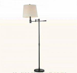 moontang Lampe de sol à lED réglable en métal simple et moderne lampe de lecture de la Chambre à coucher de la villa en Hotel étude villa de jardin Nero- de la marque Moontang image 0 produit