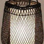 moontang Lampe de terre à trépied en bambou faite à la main antique et créative simple salon chambre à coucher étude pour étude Galerie d'Hôtel Lampe de lecture sur le chevet - de la marque Moontang image 2 produit