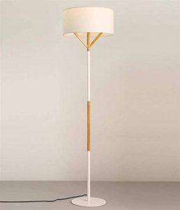 moontang style européen moderne simple créatif lampe de terre en bois étudiant apprentissage chevet bureau chambre à coucher éclairage éclairage décoration, noir Bianca- de la marque Moontang image 0 produit