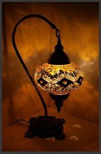 Mosaïque–Lampadaire L Lampe de table Lampe de mosaïque or samarqand Lights de la marque Samarkand - Lights image 0 produit