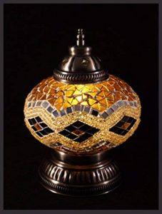 Mosaïque Lampe mosaïque–Lampe de table L Lampadaire Lampe de table Lampe Orientale Or Exclusif uniquement sur les samarqand de Lights de la marque Samarkand - Lights image 0 produit