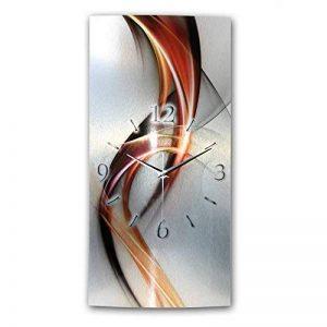 Motif horloge radio-pilotée design horloge murale décorative au design moderne *wAG246F de la marque Kreative Feder image 0 produit