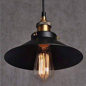 Métal Retro Suspension Luminaire Industrielle Vintage Plafonnier Lustre Edison Culot E27 Eclairage de Plafond Suspension Plafonnier Luminaire de la marque Chrasy image 0 produit