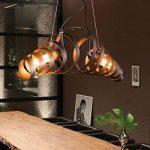 Métal rétro Lampe Vintage suspension Lustre plafond Lampe industrielle Lampe Bar lampe de Plafonniers lustre Luminaire KJLARS de la marque KJLARS image 1 produit