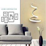 MTMLIGHT LED Spirale Mur Lumière Simple Créativité Moderne Chambre Allée Lampe de Chevet Mur Applique Salon En Aluminium En Métal Lampe de Mur de la marque MTMLIGHT image 3 produit