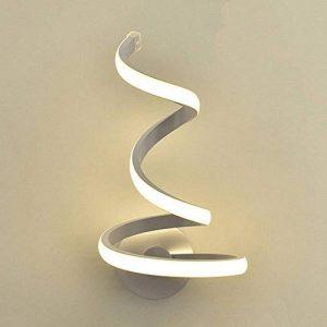 MTMLIGHT LED Spirale Mur Lumière Simple Créativité Moderne Chambre Allée Lampe de Chevet Mur Applique Salon En Aluminium En Métal Lampe de Mur de la marque MTMLIGHT image 0 produit