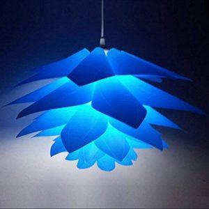 Myfei DIY Lotus Abat-jour suspendu - Décoration de salle de bain en polypropylène - Lampe moderne suspendue LED - Abat-jour pour décoration d'intérieur. de la marque Myfei image 0 produit