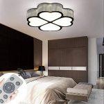 MYHOO 72W LED Plafonnier LED Lampe de Salon Dimmable Plafonnier Design Agréable Lumière Salon Éclairage Applique [Classe énergétique A++] de la marque MYHOO image 3 produit