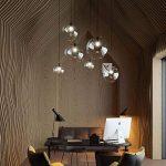 mzstech–en forme de boule en verre classique hängendes créatif seul clair clair principal de lampes en verre teinte Rétro 20cm de la marque MZStech image 4 produit