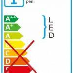 Naeve Leuchten Lampadaire LED, 2pièces, métal, 3W, chromé 19x 19x 145cm 2034199 de la marque Naeve Leuchten image 1 produit