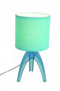 Naeve leuchten lampe de table, acrylique, hauteur : 27 cm-diamètre : 13 cm-turquoise 3074499 de la marque Naeve Leuchten image 0 produit