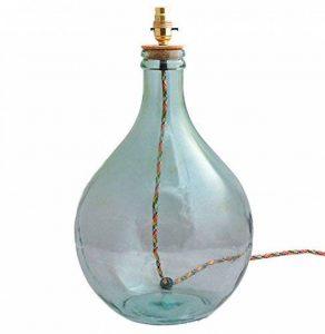 Navarre Bouteille en verre Pied de lampe de la marque Bowley and Jackson image 0 produit