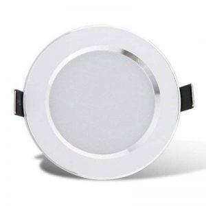 Neilyn 5W 7W 9W imperméable à l'eau LED Downlight Dimmable blanc chaud froid blanc 3 couleur encastré LED Spot Light AC85-265V (Color : Warm White-AC 220V 5W) de la marque Neilyn image 0 produit