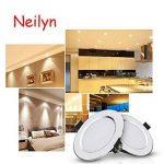 Neilyn 5W 7W 9W imperméable à l'eau LED Downlight Dimmable blanc chaud froid blanc 3 couleur encastré LED Spot Light AC85-265V (Color : Warm White-AC 220V 5W) de la marque Neilyn image 2 produit