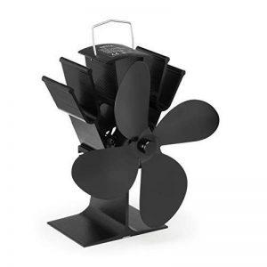 NETTA Ventilateur pour foyer de poêles à bois, fonctionnement sans électricité, 4 Flügel de la marque NETTA image 0 produit