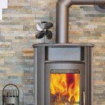 NETTA Ventilateur pour foyer de poêles à bois, fonctionnement sans électricité, 4 Flügel de la marque NETTA image 1 produit