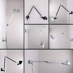 NIUYAO Lampe Applique Murale Bras-Long Réglable Eclairage Décorative-Argent de la marque NIUYAO image 3 produit
