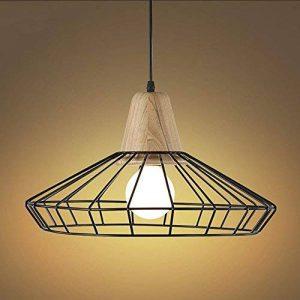 NIUYAO Lampe Suspension Lustre Cage en Métal Abat-jour avec Douille Loft Style Industriel Vintage Pendentif Lumière de la marque NIUYAO image 0 produit