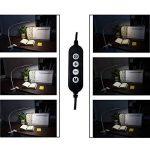 [Nouvelle Version] LED Lampe de Lecture, Eyoo Led Lampe Rechargeable et Flexible, 3 modes de couleurs 11 Mode de Luminosité, avec Câble USB pour Charger, Lampe de Chevet, Lumière Clip de la marque Eyoo image 4 produit