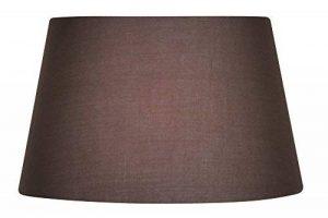 Oaks Lighting Abat-jour en coton, 25 cm Classique fungo marrone de la marque Oaks Lighting image 0 produit