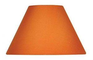 Oaks Lighting - Abat-jour en coton de forme conique, 25 cm Satsuma/arancione de la marque Oaks Lighting image 0 produit