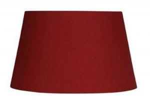 Oaks Lighting Abat-jour tambour Coton Rouge de la marque Oaks Lighting image 0 produit