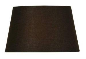 Oaks Lighting Abat-jour tambour en coton Chocolat 35 cm de la marque Oaks Lighting image 0 produit