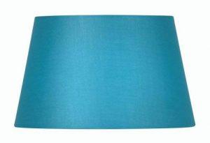Oaks Lighting Abat-jour tambour en coton Turquoise 15,2 cm de la marque Oaks Lighting image 0 produit