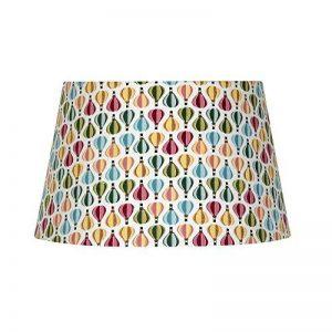 Oaks Lighting S160/12BA rigide doublé Abat-jour, coton, multicolore de la marque Oaks Lighting image 0 produit