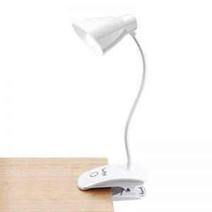 OCOOPA Clip LED Lampe de Chevet à Pince, 3 niveaux de luminosités, Lampe de Table tactile, lampe de bureau pour lecture, Blanche de la marque OCOOPA image 0 produit