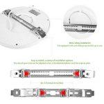 Oeegoo 6W Plafonnier LED Rond Lampes de Plafond 420 Lumens – Remplace 50W Ampoule à Incandescence RA>80 Blanc Naturel (4000-5000K) Φ11.3*H1.3CM de la marque Oeegoo image 4 produit