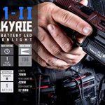 OLIGHT PL-1 II VALKYRIE - Lampe Pistolet Puissante 450 Lumens LED Cree XP-L CW, Appliquable pour Pistolet Fusil à Armes MIL-STD-1913 et Glock, Application de la Loi, Batterie CR123A 1600mAh de la marque OLIGHT image 4 produit