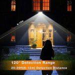 Onforu 2 Unités 35W Projecteur LED extérieur avec détecteur de mouvement,Spot Projecteur extérieur 3000LM,5000K lumière blanc froid, ultra lumineux projecteur LED,IP66 étanche, Éclairage extérieur idéal pour le jardin, garage, terrain de sport, hôtel ect image 3 produit