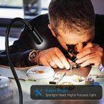 Onforu 5W Lampe de Bureau à LED avec Pince, Petite Lampe de Nuit Personnel, Lampe de Lecture, 150LM, Soin des Yeux, Branchant USB Rechargeable, Lumière Réglable et Cou Flexible 360°, Avec Variateur et Interrupteur, Idéal pour lecture, dessiner, travailler image 2 produit