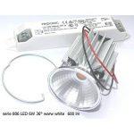 Onlineplaster 806CLLED27 Spot de Plafond à encastrer Rond, Plâtre, 6 W, Blanc Naturel, 12 x 5, 5 cm de la marque Onlineplaster image 1 produit