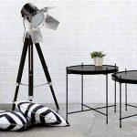 Only Deco - Lampadaire - Cinema - Noir (argente) de la marque Only Deco image 1 produit