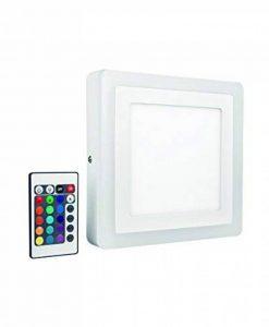 OSRAM - Applique / Plafonnier LED Color - Forme Carrée - 20x20cm - Couleurs RGBW - 780 lm - Télécommande fournie de la marque Osram image 0 produit